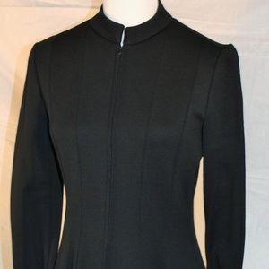 Vintage black a-line dress, medium
